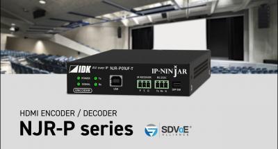 [IDK] NJR-P01U Series - 4K@60(4:4:4) HDMI Encoder/Decoder, SDVoE AV over IP